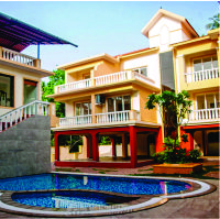 Amber Gardens 2 Apartments In North Goa Img1